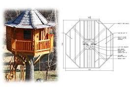 12 Diameter Octagonal Treehouse Plan Treehouse Hardware and Tree