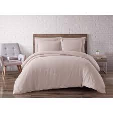 blush linen duvet cover. Exellent Cover Brooklyn Loom Linen Blush King Duvet Set Throughout Cover V