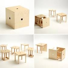 compact furniture. Cube 6 Is A Brilliant Invention Of Designer Naho Matsuno. It Allows Us To Solve The Most Common Small Space Related Problem \u2013 Guest Seating. Compact Furniture N