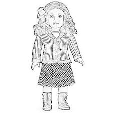 American Girl Pictures To Color Interest American Girl Coloring