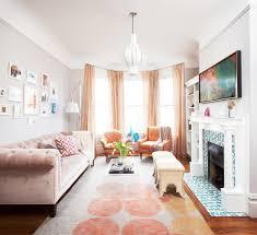 Orange Rugs For Living Room Orange Area Rug Living Room Contemporary With Beige Floor Tile