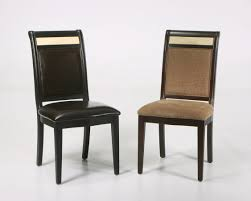 chair elegant black and cappuchino colored of dining room chair slipcover with no other pattern