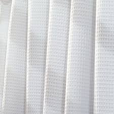 white shower curtain. York Shower Curtain In White