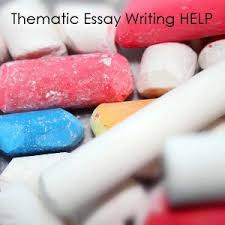 how to write a thematic essay tips and hints thematic essay  thematic essay format