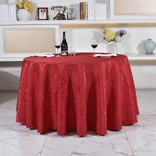 polyster round table 160 320cm cloth hotel blanket home decor wedding party decoration restaurant banquet kitchen accessories fabric tablecloths