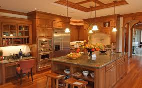 Kitchen Remodel Granite Countertops Beautiful Kitchen Remodel Ideas Granite Countertop Teak Wood