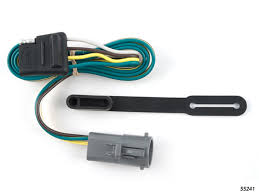 ford ranger 1998 1999 wiring kit harness curt mfg 55241 1998 ford ranger stereo wiring harness at 1998 Ford Ranger Wiring Harness
