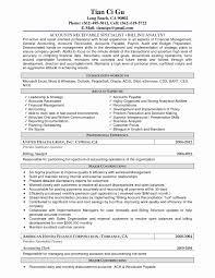 Entry Level Accounting Clerk Resume Sample Lovely Accountsble Resume