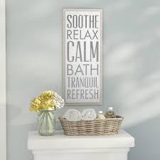 soothe relax calm bath textual art on wood  on tranquil bedroom wall art with zipcode design soothe relax calm bath textual art on wood
