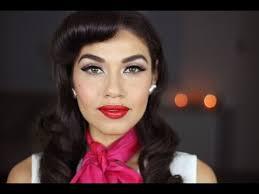 1950 s inspired makeup tutorial eman you