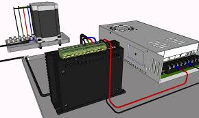 wire div268n to steppers the stepper motor is one of the core devices in your cnc project and is the driving force behind all linear movement your kit will contain between 3 and 5