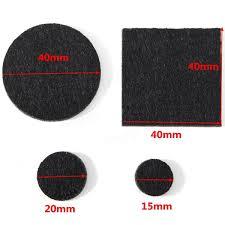 50Pcs Floor Furniture Felt Pads Self Adhesive Sticky Protect Wood