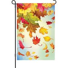 fall garden flags. Fall Garden Flag - Autumn Leaves Flags A