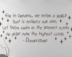 Albus Dumbledore Dream Quote