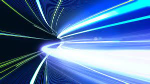how fast does light travel the sd