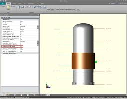 How To Design A Nozzle Rating Of Standard Flange For Nozzles On Jacket Intergraph
