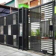 Tampilan pagar tampak selaras dengan bangunan rumah minimalis. Pagar Minimalis Pagar Rumah Pintu Gerbang Pagar Shopee Indonesia