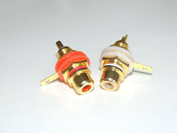 rca jack er reviews online shopping rca jack er reviews 20pcs lot panel mount gold plated rca female plug jack audio socket amplifier chassis phono connector nut er cup