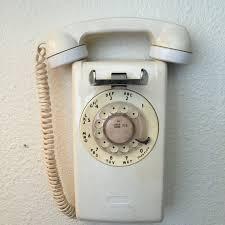 vintage wall phone wall mounted