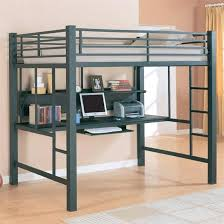 double loft bed with desk interior lovely double loft bed with desk bunk beds and full