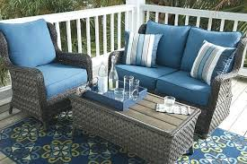 Patio Furniture Seat Covers Crafty Blue Patio Furniture Cushions