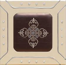 professional sculpted mdf leather wall panels decorative interior panels 400 400mm images