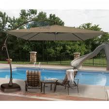 seabrooke 10 square cantilever umbrella with