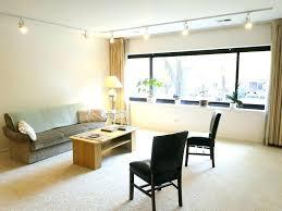 bedroom track lighting. Track Lighting In Bedroom Ideas Straight Table Lamp Wooden Grey Sofa White Pillow H