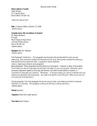 Letter Change Of Business Address Letter Template