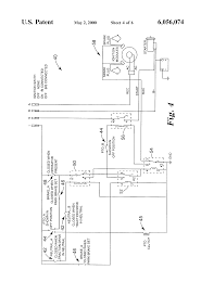 patent us6056074 mower non contact drive system interlock patent drawing