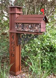 craftsman style mailbox. Interesting Craftsman Craftsman Mailbox Post Ideas  Lastly I Designed And Built The Darned  Mailbox To Match Too Call Me  On Style