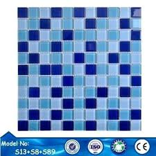 glass pool tiles mix blue colors crystal glass pool mosaic tiles for s glass mosaic pool