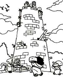 Small Picture Best Tower Of Babel Coloring Page 38 With Additional Seasonal