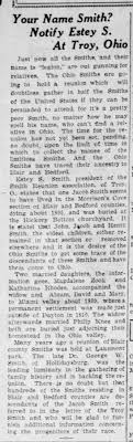 Jacob Smith's widow m. Philip Knee moved to OH 1809 - Newspapers.com