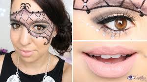 masquerade mask makeup tutorial by eolizemakeup you