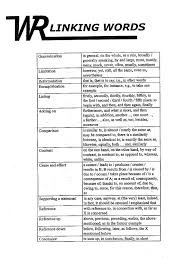 essay link words french essay link words