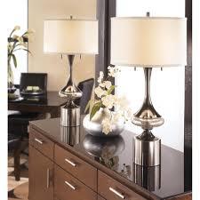 Living Room Lamp Sets Metal Table Lamp Set Of 2