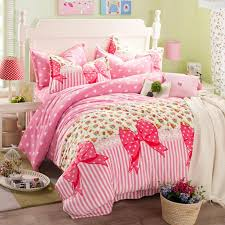 princess bowknot duvet cover bed sheets sets flannel girls bedding for modern residence flannel duvet cover king size designs