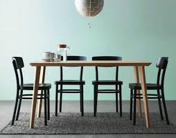 Modern Dining Room Tables IKEA And Chairs Set