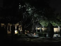 highland park outdoor lighting installed by dallas landscape lighting