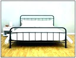rustic metal bed frame – movedon