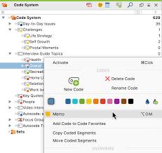Cool Memos Create A Code Memo Maxqda The Art Of Data Analysis Maxqda
