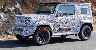 2018 suzuki samurai. brilliant suzuki 2018 suzuki jimny spied testing design leaked in presentation throughout suzuki samurai