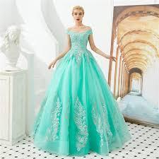 2019 Fashion Bateau Appliques Ball Gown Quinceanera Dresses Lace Up Plus Size Sweet 16 Dresses Debutante 15 Year Formal Party Dress Bq210 Find A Dress