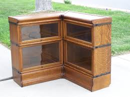 2 stack 3 4 width 25 corner unit globe wernicke d oak
