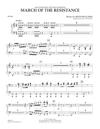 Download for free in pdf / midi format, or print directly from our site. March Of The Resistance From Star Wars The Force Awakens Piano Sheet Music To Download