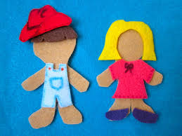 Gingerbread Man Felt Board Story Template 25 Images Of Felt Person Template Unemeuf Com