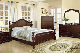 Solid Cherry Bedroom Furniture Sets Solitare Luxury Solid Wood Bedroom Set King On Line Only