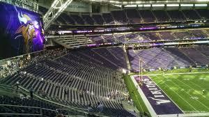 U S Bank Stadium Section 240 Minnesota Vikings
