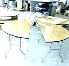 half circle dining table semi round glass ideas awesome